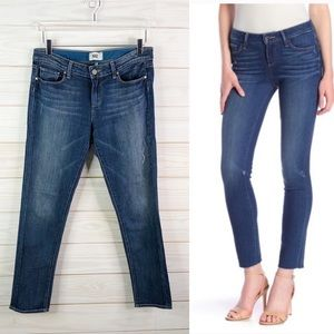 Paige Jeans Skinny Ankle Peg Denim Woman Size 29